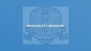 Howden AFC Reserves v Gilberdyke Phoenix Reserves
