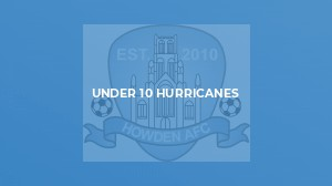 Under 9 Hurricanes v Kippax Athletic White