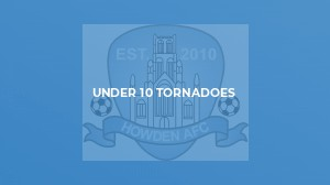 Under 9 Tornadoes v Monk Fryston United U9 Reds
