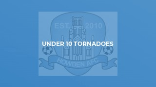 Under 9 Tornadoes v Brierley Cubs
