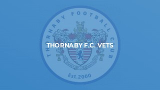 THORNABY F.C. VETS