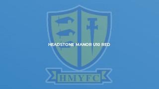 Headstone Manor U10 Red