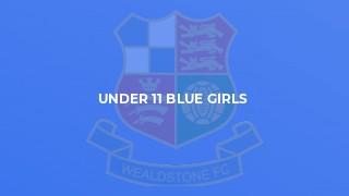 Under 11 Blue Girls