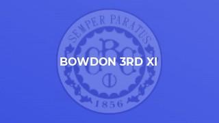 Bowdon 3rd XI