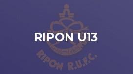 Ripon u13