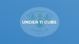Under 11 Cubs