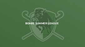 Boars Summer League
