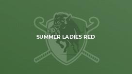 Summer Ladies Red