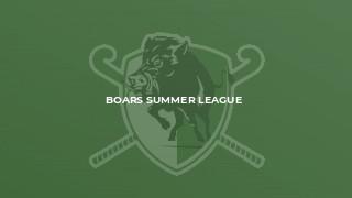 Boars Summer League