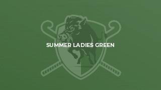 Summer Ladies Green