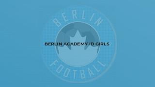 Berlin Academy ID Girls
