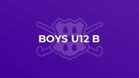 Boys U12 B