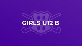 Girls U12 B