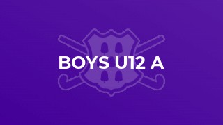 Boys U12 A