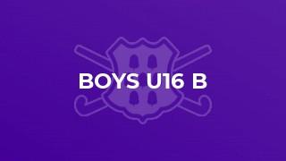 Boys U16 B