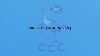 Girls U11 (schl yrs 5/6)