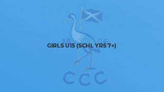 Girls U15 (schl yrs 7+)