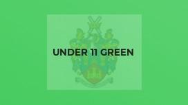 Under 11 Green