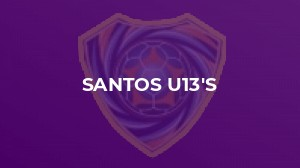 Reddish North End Yellows U13s 7–1 Santos U13s