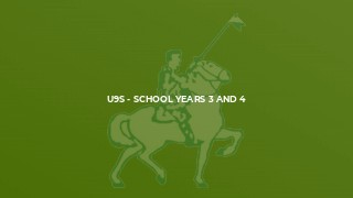 U9s - School Years 3 and 4