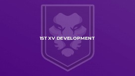 1st XV Development