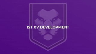 1st XV Development