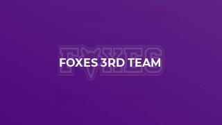 Foxes 3rd Team