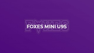 Foxes Mini U9s