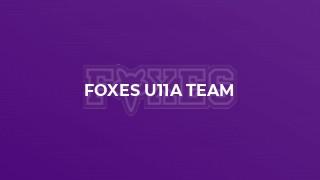 Foxes U11A Team