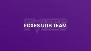 Foxes U11B Team
