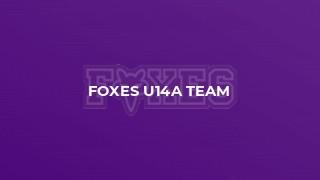 Foxes U14A Team