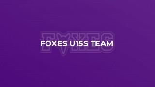 Foxes U15s Team