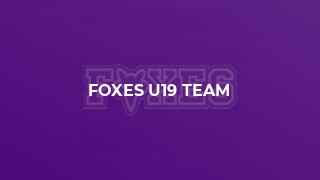 Foxes U19 Team