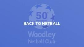Back To Netball
