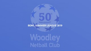 BDNL Summer League 2019