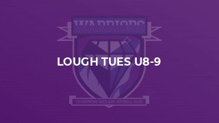 Lough Tues U8-9