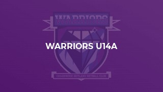 Warriors U14a