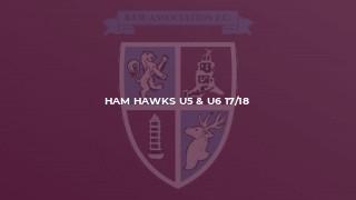 Ham Hawks U5 & U6 17/18