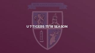 U 7 Tigers 17/18 Season