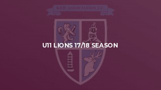 U11 Lions 17/18 Season