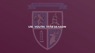 U15  Youth  17/18 Season
