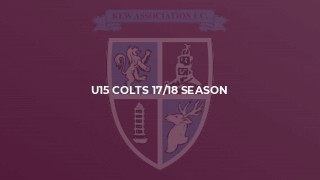 U15 Colts 17/18 Season