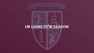 U8 Lions 17/18 Season