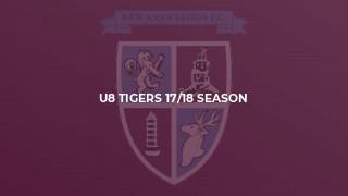 U8 Tigers 17/18 Season