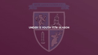 Under 13 Youth 17/18 Season