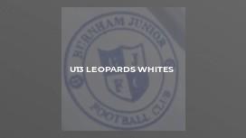 U13 Leopards Whites