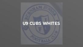 U9 Cubs Whites