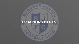 U7 Minors Blues