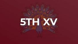 5th XV