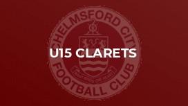 U15 Clarets